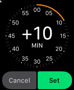 Set Apple Watch to run faster